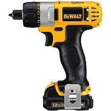 "DeWALT DCF610S2 12V Cordless 1/4"" Screwdriver Tool Kit - Reconditioned"