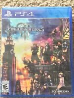 Kingdom Hearts 3- PS4- Brand New Factory Sealed- Free Shipping