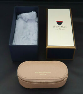 Aspinal of London | Leather Handbag Tidy in 'Nude' | Unused from New in Gift Box