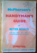 McPherson's Handyman's Guide to Better Results
