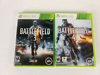 Battlefield 3 and Battlefield 4 Lot Bundle (Microsoft Xbox 360) - CIB