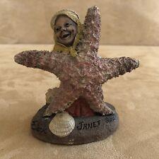 Tom Clark Gnome Janet #5189 Starfish Cairn Studios 1992 woman