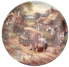 Wedgwood Early Morning Milk Country Days Chris Howells Plate CP598