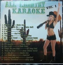 ALL COUNTRY KARAOKE CDG VOL 1 TAYLOR SWIFT,SUGARLAND,JESSICA HARP,ZAC BROWN MUSI