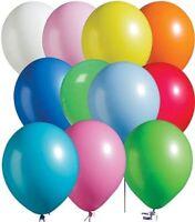 100 PLAIN BALONS BALLON HELIUM BALLOONS Quality Birthday Wedding baloon ALL DECO