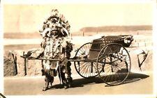 More details for durban rickshaw boy europeans only rppc postcard photograph antique south africa