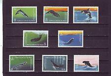 TURKS & CAICOS ISL - SG745-752 MNH 1983 WHALES