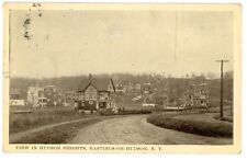 Hastings on Hudson River NY -HOUSES IN HUDSON HEIGHTS- Postcard