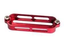 Aluminium Main DEL Case (Red) (pour MH Cadre BLADE 350 QX)