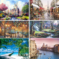 300 / 500 Pieces DIY Jigsaw Fantasy Scene Puzzle for Adult Kids Educational Toys