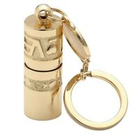 Golden Mini Portable LED Flashlight Torch Lamp Handheld Camping Keychain Light U