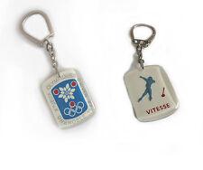 Porte Clé Xes Jeux Olympiques d'Hiver Grenoble 1968 - Vitesse - Keychain 1968s