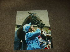 Willie CARSON  July Cup HAMAS Horse Racing Legend 8/7/93 Hand SIGNED Press Photo