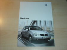 22392) VW Polo 9N Polen Prospekt 2005