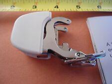 Low Shank Plaid Matcher Walking foot no teeth 7mm Husqvarna Viking,Kenmore,White