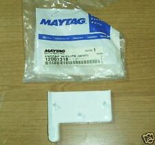 New listing Maytag Door Tray White Endcap 12001318 Missing Clips Nos Original Maco