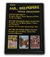 MR. BELVEDERE FILMS COLLECTION - 3 DVD-R - 3 FILMS - 1948 - 1951