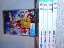 BIG BANG THEORY SEASONS 1-2-3-4-5-6-7-8-9 bluray dvd sets