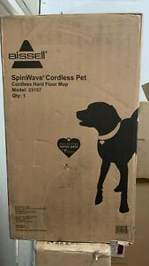 Bissell SpinWave Cordless PET Hard Floor Powerful Spin Mop 18 Volt 23157