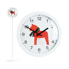 Modern Stand Floor Clock Home Decor Interior Separate Stand Clock - Unicorn(WH)