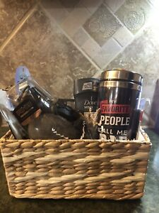 Mens Gift Basket, Dove Care & Axe Detailer Plus Fathersday Mug and More