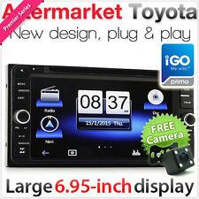 "6.95"" Toyota Car DVD Player GPS Land Cruiser FJ Prado Hilux Stereo Radio CD USB"