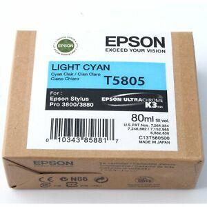 Epson Stylus Pro 3800/3880 Ink - Light Cyan T5805 80ml (19831)