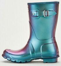 NEW Hunter Women's Size 3 UK / EU 36 Original Nebula Short Wellington Rain Boots