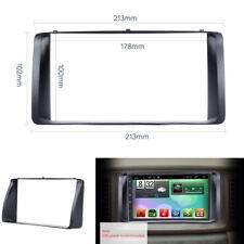 ABS Auto Stereo Radio Fascia Platte Panel 2 DIN Rahmen Für Toyota Corolla 03-06