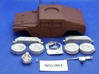 Wargames/R.P.G./Rol/Apocalipsis - Humvee de 28mm - Parte Metal WG61