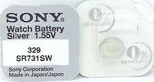 SONY 329 SR731SW V329 329 SR731SW Orologio Batteria