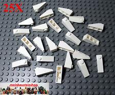 25X Lego® 4286 Dachsteine Roof Slope 1X3 33° Weiß White