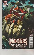 MARVEL COMICS MONSTERS UNLEASHED #3 AUGUST 2017 1ST PRINT NM