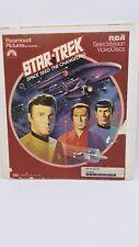 Star Trek Space Seed / The Changeling RCA SelectaVision VideoDisc Vintage CED