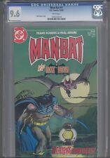 MAN-BAT vs Bat Man #1  CGC 9.6 1984  DC Neal Adams Cover: Make an Offer!