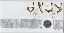 More details for 1998 nhs fiftieth anniversary 50p coin stamp cover set in near mint condition.