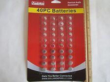 80=2X40/LOT:Batteries:Button AG1/364,AG3/392,AG4/377,AG10/389,AG12/386,AG13/357