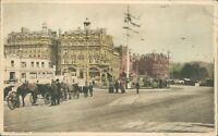 Postcard Dorset Bournemouth The square Posted