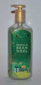 1 BATH & BODY WORKS VANILLA BEAN NOEL CREAMY LUXE HAND SOAP WASH SILK 8OZ GREEN