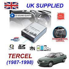 TERCEL 1987-1998 MP3 SD USB CD AUX Input Audio Adapter Digital CD Changer Module