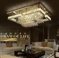 Rectangle Crystal Light LED ceiling lamp modern minimalist living room bedroom