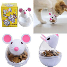 New listing Pet Cat Tumbler Feeder Toy Mouse Leaking Food Balls Pet Educational Toys3`Dc