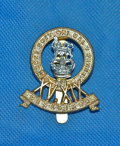Military Regimental Army Cap Badge with Slider - XV.XIX 19th Hussars