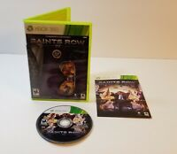 Saints Row IV (Microsoft Xbox 360, 2013) cib complete with case and manual