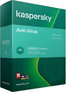KASPERSKY ANTIVIRUS ANTI VIRUS 2021 - 1 PC / USER 1 YEAR | UK EU DOWNLOAD