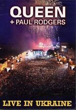 Queen And Paul Rodgers - Let The Cosmos Rock - Live In Ukraine (DVD, 2009)