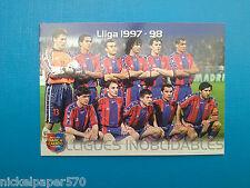 PANINI MEGACRACKS BARCELONA 2004 - N.133 BARCELONA 1997-98