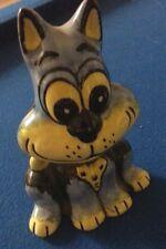 Lorna Bailey azul y amarillo de Gato Excelentes Condiciones Libre P&P