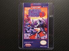Megaman 3 Mega Man 3 Nes Cartridge Replacement Game Label Sticker Precut