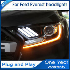 Car For FORD ranger SUV LED front lamp for Everest  year LED headlights 2016-17
